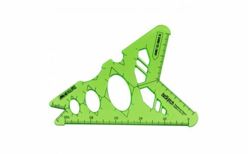 IsoSketch® 3D Isometric Technical Drawing Tool Ellipse Drawing Drafting Stencil