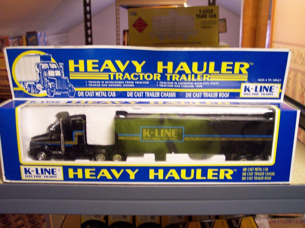 solo para ti K-Line K-8108 Die Cast Remolque De De De Tractor Escala 1 48 Heavy Hauler.  ahorre  promociones de equipo