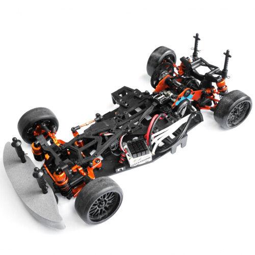 Yeah Racing HPI Sprint 2 Naranja Aluminio RWD deriva Kit de conversión SPT2-S04OR