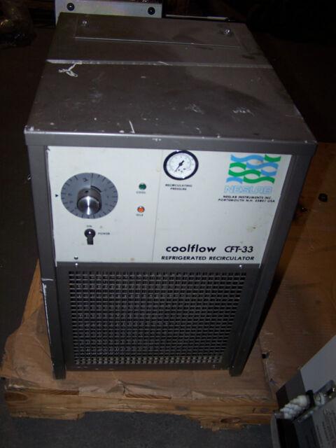 NESLAB CFT-33 COOLFLOW REFRIGERATED RECIRCULATOR CHILLER PD-1 335104030100