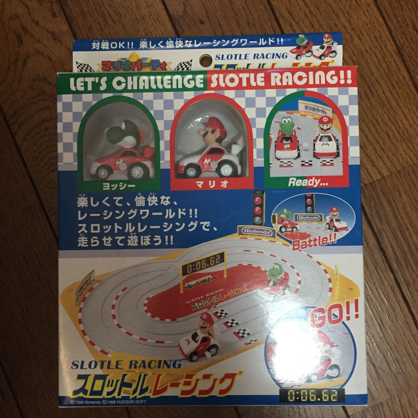 Mario Kart slot racing mini car set mario party