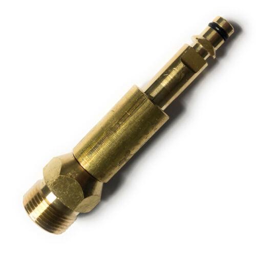 m22x 1,5 AG Pour Karcher-k2 k3 k4 k5 k6 k7 Quick Connect Adaptateur Quick Click
