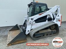 2020 Bobcat T650 Track Loader Erops 2 Speed Heat Ac 302 Hours Unsold Demo