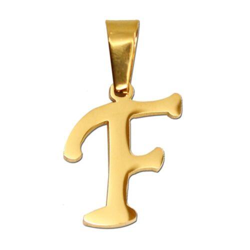 Cadenas letras remolque remolque collar iniciales a-z nombre remolque Golden