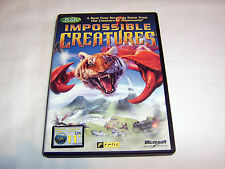 IMPOSSIBLE CREATURES Real Time Strategy Game for PC