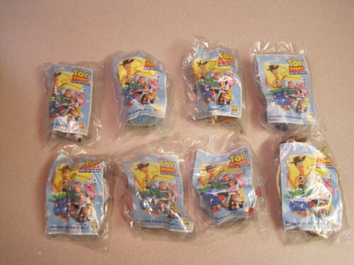 Burger King 1996 Toy Story Mint in Package Complete Set