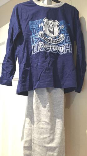 100/% coton Garçons//Enfants Pyjamas//Nightwear Manches Longues Football Club 5-6 Ans