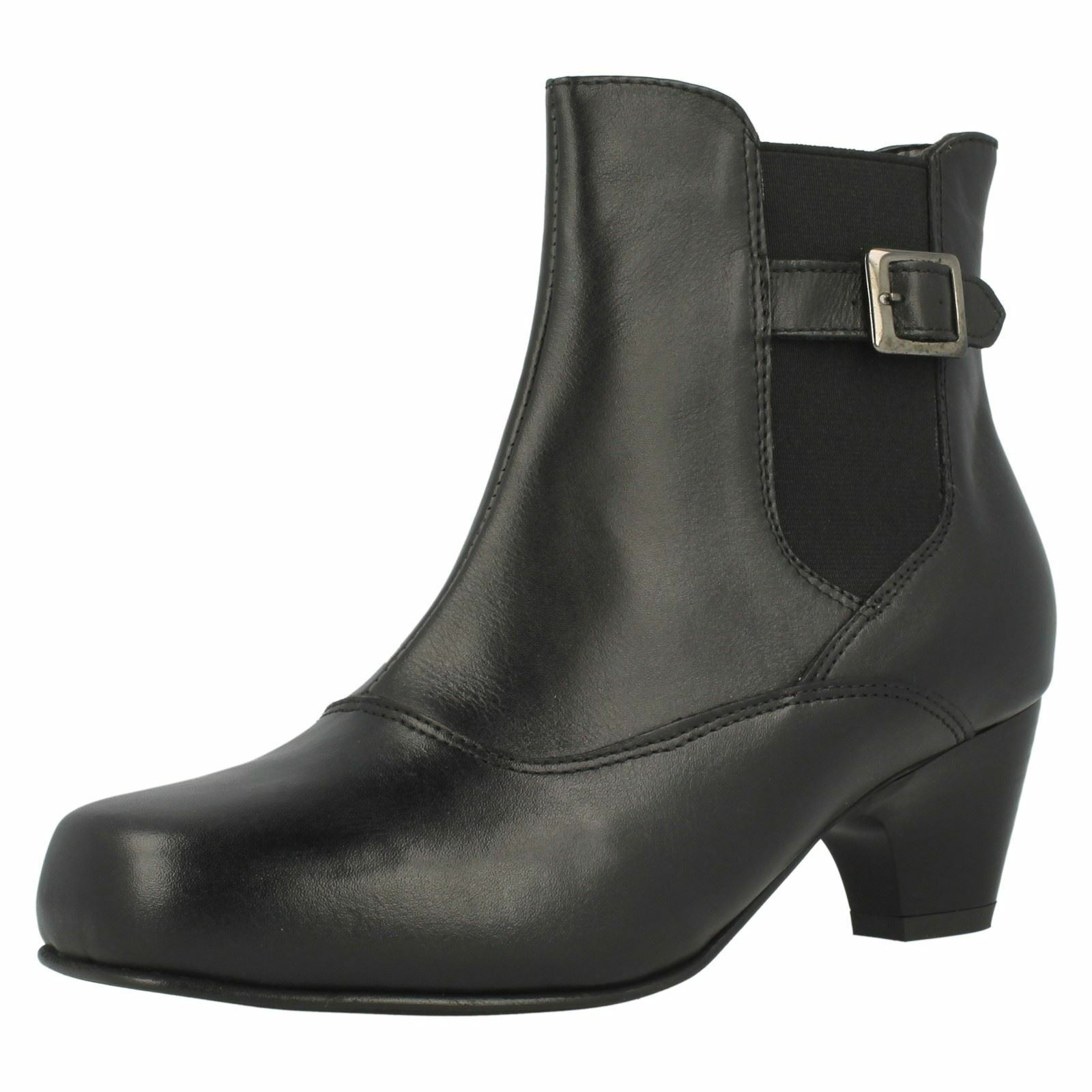 Ladies Da Bella by DB Wide Fitting Ankle Boots Karina