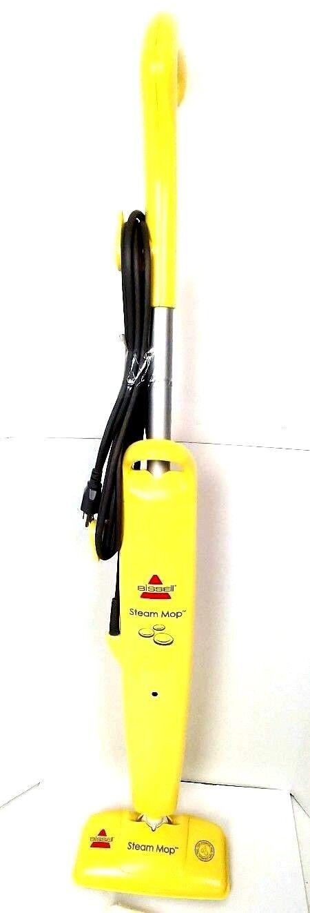Bissell Steam Mop Hard Wood 1867-U Floor Cleaner Yellow Bare Floor
