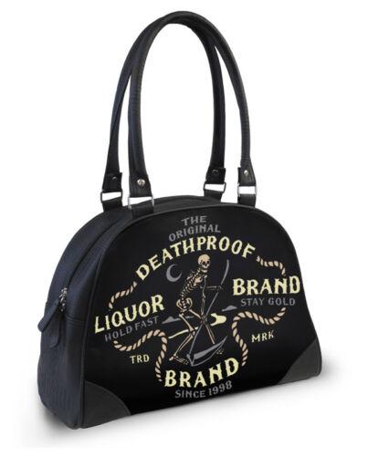 Brand De Sac Liquor Faucheuse Gothique Tatouage Punk Tricoté Bowling Nuit dcWwqZw6x8