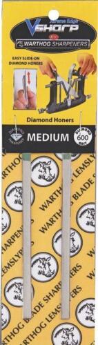 Warthog Xtreme Edge Stones Medium 600 Grit Hang Packaged WHSXTSM