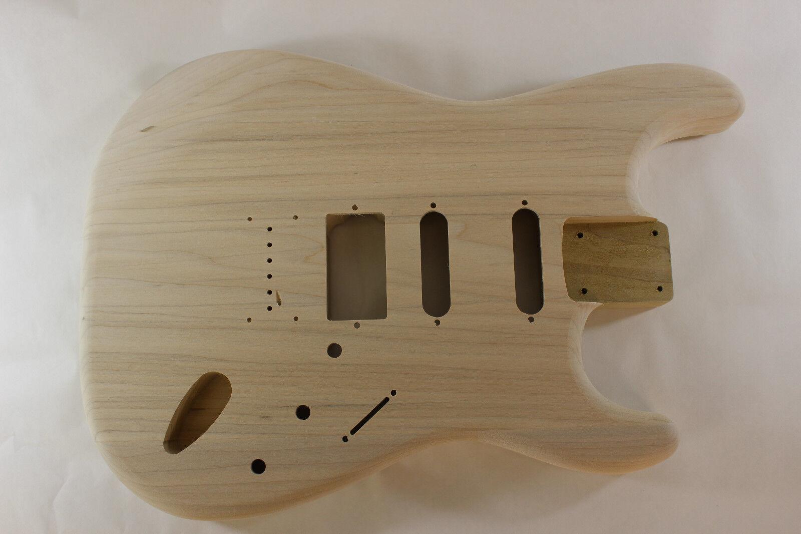 Álamo Hardtail HSS guitarra de de de cuerpo-se adapta a Fender Strat Stratocaster Cuello P491  venta con alto descuento