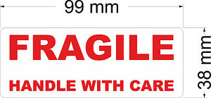 140-x-FRAGILE-HANDLE-WITH-CARE-Labels-Stickers-99-x-38-mm