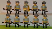 Playmobil Confederate  soldiers