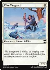 ELITE VANGUARD Eternal Masters MTG White Creature — Human Soldier Com