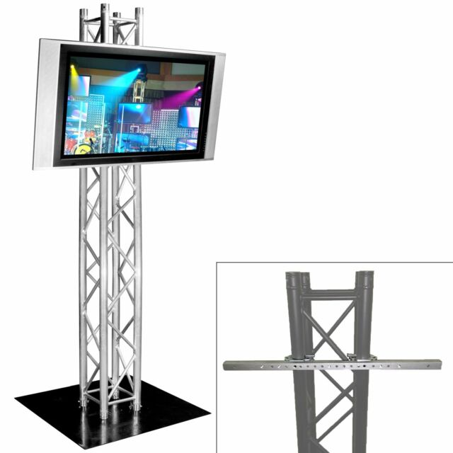 Global Truss Plasma Tv Stand 8 8ft Truss Lighting Tower Ebay