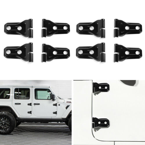 For 2018 Jeep wrangler JL Door /& Tailgate Hinge Covers Exterior Accessories 10pc