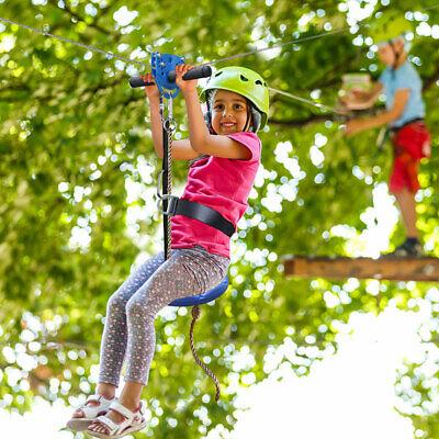 Backyard Ziplines Kit 100ft Children Zip Line Kit with ...