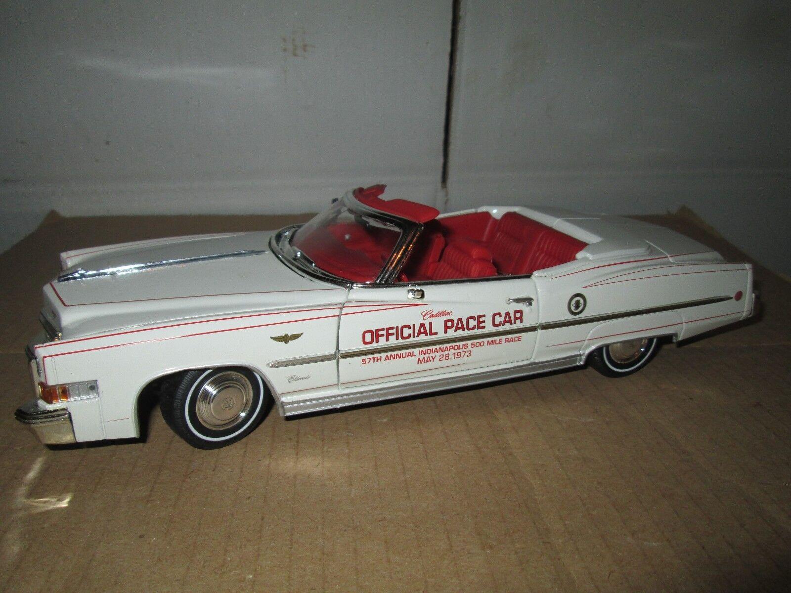 1973 Cadillac Eldorado descapotable Oficial Indy 500 Pace Car Ansen Suelto