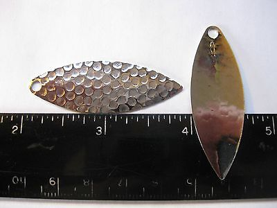 WORTH INDIANA #4 NICKLE BLADES PK OF 50 SPINNERBAIT BEST PRICE ON