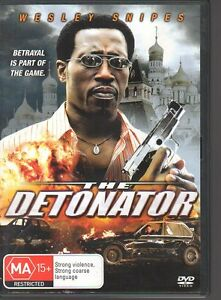 THE-DETONATOR-DVD-R4-2006-Wesley-Snipes-LIKE-NEW-FREE-POST