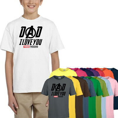 Dad Gift Father/'s Day Outfit I Love Daddy Father/'s Day T-Shirt For Boys