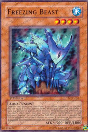 Yugioh! Freezing Beast - MFC-017 - Common - Unlimited Edition Near Mint, English