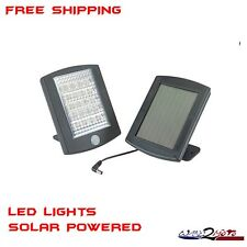 LED Security Light with Motion Solar Power Detector Sensor Outdoor Garden