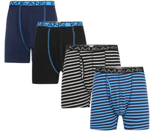 Mens-KAM-BIG-SIZE-2-Pack-Boxer-Shorts-Cotton-Mix-Underwear-Classic-2XL-8XL