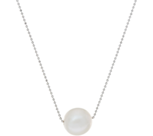 Details about Honora Sterling Silver 11 00mm Cultured Pearl White Ming 20