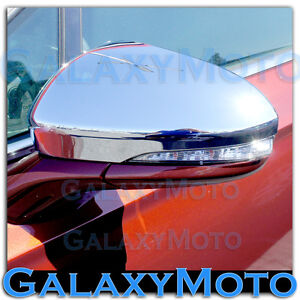2013-2015-Ford-Fusion-Triple-Chrome-plated-Mirror-with-Turn-Signal-Cover-set-15