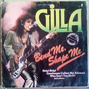 """Gilla – Bend Me Shape Me vinilo LPS 12"""""""