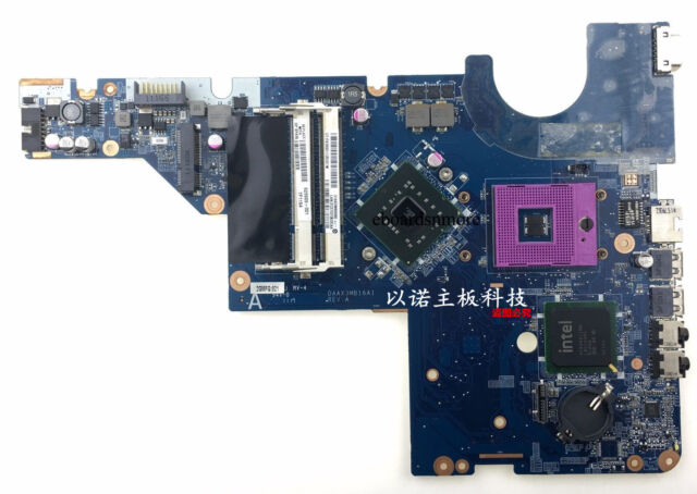623909-001  for HP Compaq CQ56 G56 CQ62 Intel Motherboard GL40 No HDMI Grade A