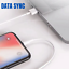 miniature 12 - 3Pack USB Fast Charging Cable 3/6Ft For Apple iPhone 12 11 8 7 6 XR Charger Cord