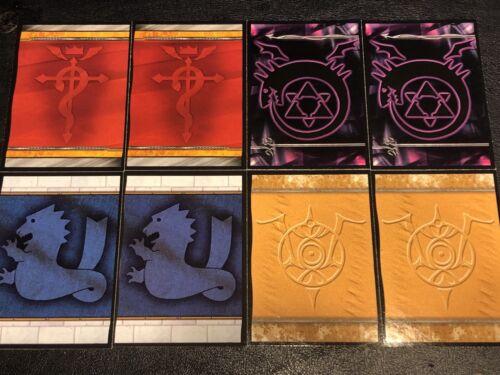 8 cardstock 2006 Press Pass RC2 Fullmetal Alchemist HD Promos