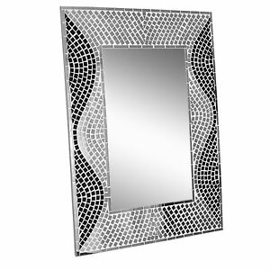 New Hand Crafted Mosaic Mirror Wall Hanging Mirror Home Decor 80 X 60cm Ebay