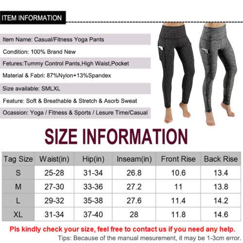 allenamento per pantaloni da palestra vita alta ginnastica fitness palestra per da a sportivi da atletica da allenamento da Pantaloni AfY0wqf