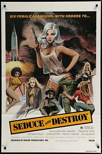 DOLL-SQUAD-1973-aka-SEDUCE-amp-DESTROY-Movie-Poster-27x41-Grindhouse-MoviePoster