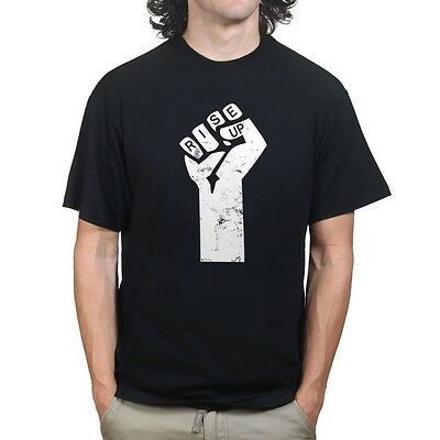 Rise Up Anonymous Revolution Russell Brand Anarchy Anti-government T shirt