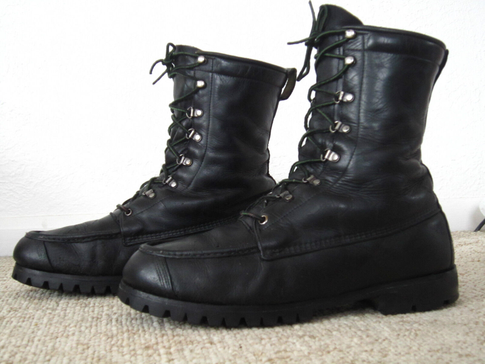 Vintage 1960's-70's TED  WILLIAMS Hunting Sports Boots - Excellent   sz men's 9.5  hottest new styles
