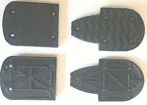 NEW ROSSIGNOL LANGE SKI BOOT REPLACEMENT SOLES 2 HEELS 2 TOES SET 7mm 22 to 31