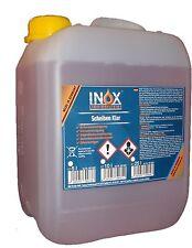 5 Liter INOX® Scheiben Klar Glasreiniger ohne schlieren Streifenfreieanwendung