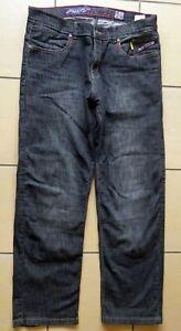 RST-Black-Aramid-Motorcycle-Jeans-Size-36-Regular