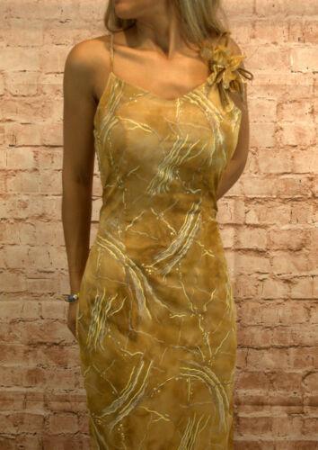 Abendkleid Cocktallkleid Sommerkleid Maxikleid Kleid Spaghettiträger Gr 40 38