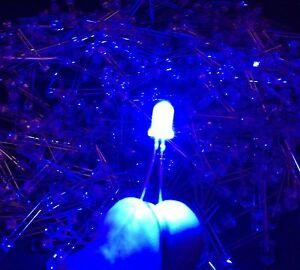 100-Blue-Color-LED-Small-Mini-Light-Bulbs-Lot-in-USA