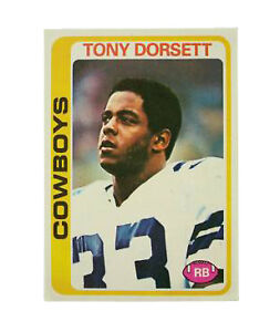 1980 Topps #53 Tony Hill Dallas Cowboys Fútbol Tarjeta