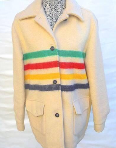 Fantastic Vintage Hudson Bay 4 Point Blanket Coat