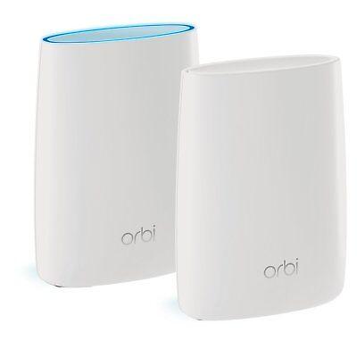 NETGEAR Orbi Home Mesh RBK50-100NAR WiFi System (RBK50), 2 Pack
