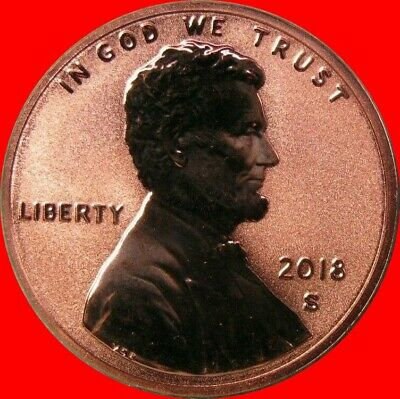 2018 S Reverse Proof Lincoln Shield Cent Rare only 200K Minted 1 Coin in Sale
