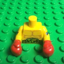 Lego X1 New World Champion Boxer Mini Figure Torso With Red Boxing Gloves